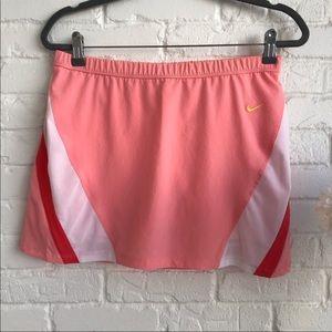 Nike pink athletic skirt skort medium